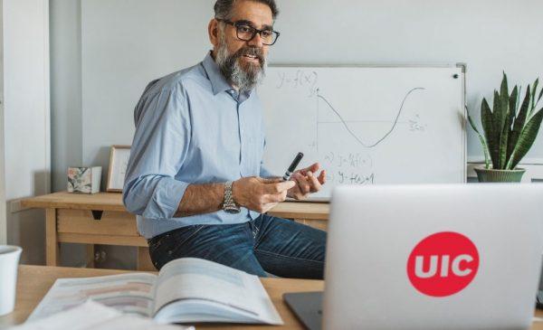 Instructor Teaching Online